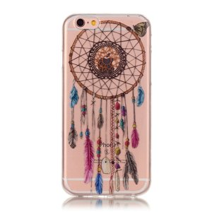 Coque en TPU Clear Dreamcher iPhone 6 6s - Marron